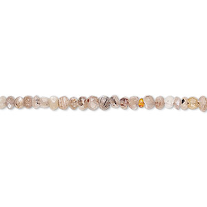 bead, multi-moonstone (natural), 2x2mm-3x2mm hand-cut faceted rondelle, c+ grade, mohs hardness 6 to 6-1/2. sold per 13-inch strand.