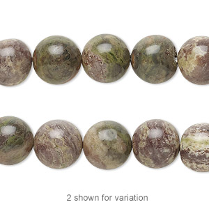 bead, rainbow rhyolite (natural), 10mm round, b grade, mohs hardness 6-1/2 to 7. sold per 8-inch strand.