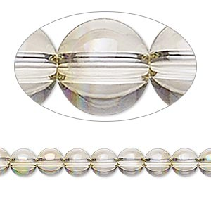 bead, swarovski crystals, crystal passions, crystal luminous green, 6mm globe (5028/4). sold per pkg of 12.