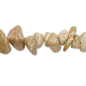 bead, tigerskin jasper (natural), large chip, mohs hardness 4 to 5. sold per 15-inch strand.