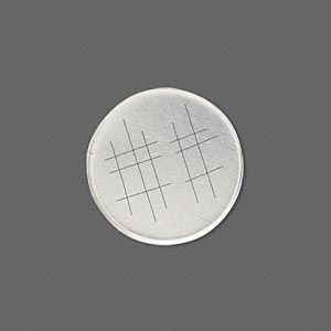bezel cup, sterling silver, solid back, 20mm unpolished round. sold per pkg of 2.