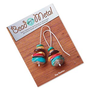 book, bead meets metal: easy metalwork techniques to showcase gemstone beads and other treasures by kay rashka. sold individually.