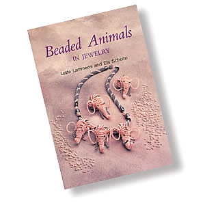 book, beaded animals by lette lammens and els scholte. sold individually.