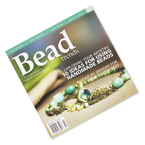 book, exploring your artistry: 10 ideas for using handmade beads by bead trends magazine. sold individually. limit 1 per order.