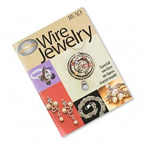 book, get started with wire jewelry compiled by julia gerlach, from the editors of beadbutton magazine. sold individually.