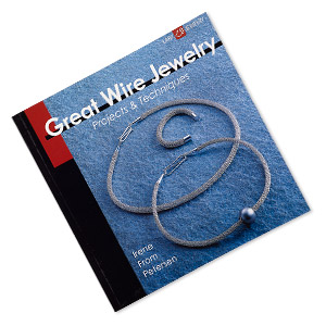 book, great wire jewelry: projects  techniques by irene from petersen. sold individually.