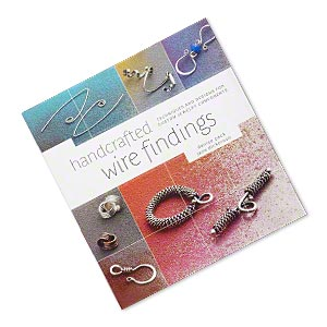book, handcrafted wire findings: techniques and designs for custom jewelry components by denise peck and jane dickerson. sold individually.
