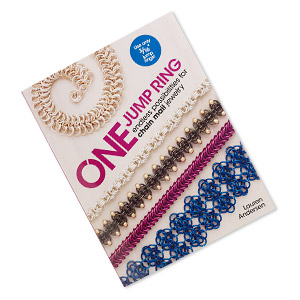 book, one jump ring: endless possibilities for chain mail jewelry by lauren andersen. sold individually.