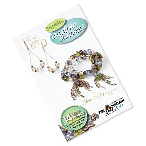 book, secrets to beading success, a fire mountain gems and beads publication, new edition printed 2013. sold individually.