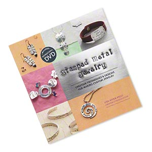 book, stamped metal jewelry: creative techniques  designs for making custom jewelry by lisa niven kelly. sold individually.