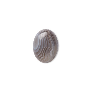 cabochon, botswana agate (natural), 16x12mm calibrated oval, b grade, mohs hardness 6-1/2 to 7. sold individually.