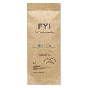 clay, fyi for your inspiration, fine silver. sold per 50-gram pkg.