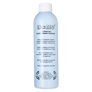 cleaner, isonic, clear. sold per 8-ounce bottle.
