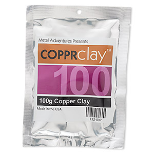 copprclay™, 1700-degree formula. sold per 100-gram pkg.