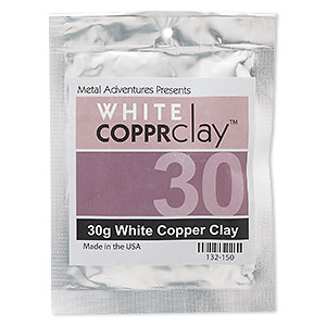 copprclay™, white, 1850-degree formula. sold per 30-gram pkg.