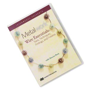 dvd, metalwork: wire essentials instructional video with denise peck. sold individually.