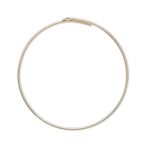 earring, 14kt gold-filled, 31mm round hoop. sold per pkg of 5 pairs.