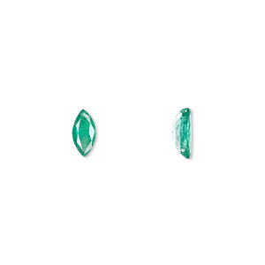 gem, emerald (oiled), 8x4mm faceted marquise, a grade, mohs hardness 7-1/2 to 8. sold individually.