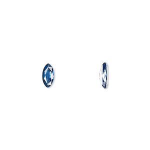 gem, sapphire (heated), 7x3.5mm faceted marquise, a grade, mohs hardness 9. sold individually.