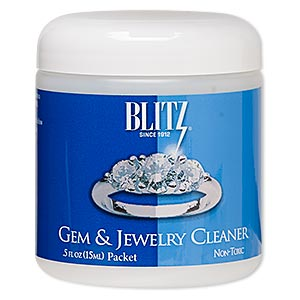 jewelry cleaner, blitz gem  jewelry cleaner. sold per 0.5-ounce packet.