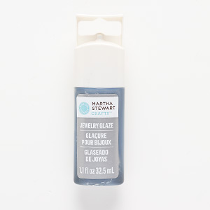 jewelry glaze, titanium. sold per 1.1-fluid ounce bottle.