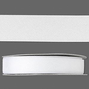 organza ribbon, nylon, white, 1/2 inch. sold per 33-yard spool.