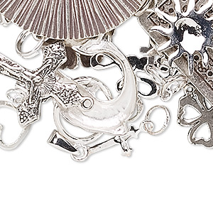 Finding Assortments/Sets Sterling Silver Silver Colored