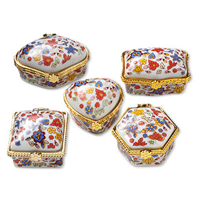 Gift and Presentation Boxes Porcelain / Ceramic Multi-colored