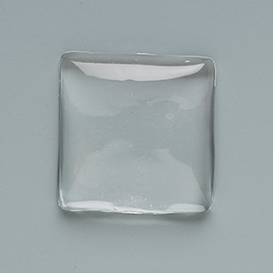 Cabochons Glass Clear