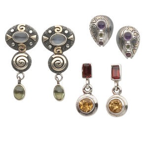 Earring Assortments Multi-colored Create Compliments