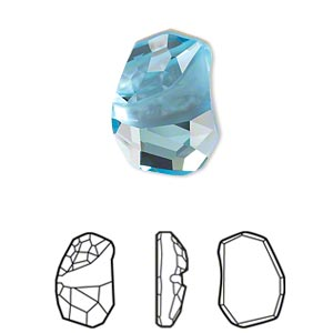 Fancy Stones Swarovski Aquamarine