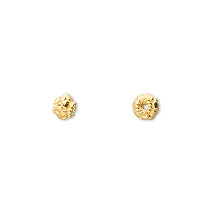 Beads Vermeil Gold Colored