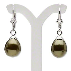 Leverback Earrings Everyday Jewelry H20-5698JD