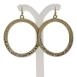 Fishhook Earrings Everyday Jewelry H20-5742JD