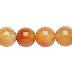 Beads Grade B Red Agate