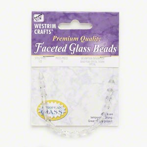 Czech Beads Glass Clear
