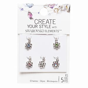 Charms Swarovski Assorted Colors