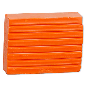 polymer clay, kato polyclay™, orange. sold per 2-ounce pkg.