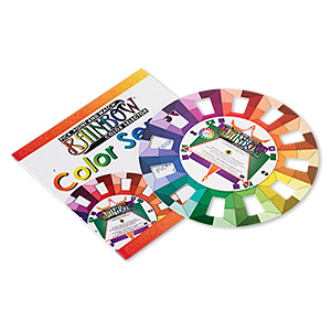 rainbow™ color selector wheel, 5-inches. sold individually.
