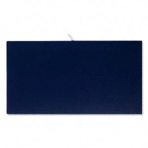 tray insert, velvet, royal blue, 14 x 7-3/4 inch pad. sold individually.
