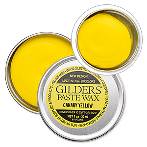 wax paste, gilders paste, canary yellow. sold per 1-ounce canister.