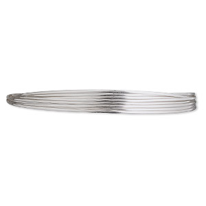 wire, stainless steel, soft, round, 20 gauge. sold per pkg of 6 meters.