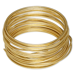 wire, wrapit, jewelers bronze, dead-soft, round, 14 gauge. sold per 1/4 pound spool, approximately 19 feet.